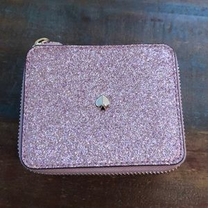 Gently Used Kate Spade BurgessGlitter Jewelry Case